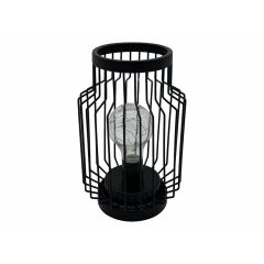 Hi LED lantaarn - 13 x 21 cm - Zwart