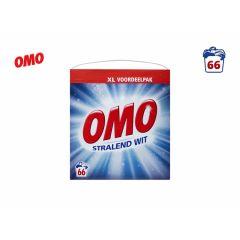 Omo Waspoeder - Stralend Wit - 66 wasbeurten - 3,762 kg - Wasmiddel