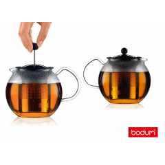 Bodum Assam Theepot met rvs filter - 8 kops - 1.0L