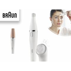 BrAun FaceSpa Cleansing brush+ Mini epilator Face 831
