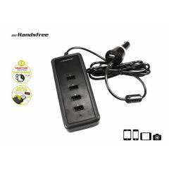 Mr Handsfree 5USB smart car charger 8.6A black
