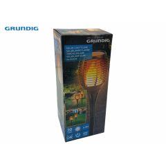 Grundig - Solar Light Flame - 30x SMD - Inclusief accu