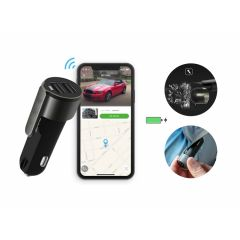 Silvergear Car Charger en GPS tracker in 1