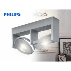 Philips MyLiving Particon Spotlamp - 2 spots