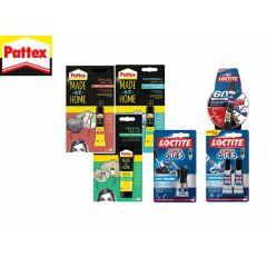 Henkel Pattex & loctide superlijmset - 7 - delig