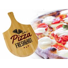 Bamboe Snijplank Pizza Design