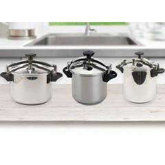 Royalty Lux snelkookpannen - Sneller en gezonder koken met een hogedrukpan