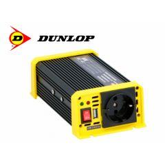 Dunlop 12v omvormer - 300 Watt