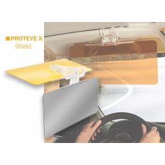 Proteye X zonneklep voor in de auto