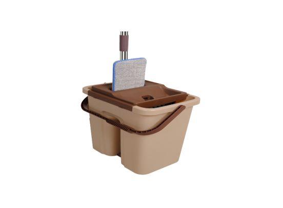 Cenocco CC-9070 vlakke schoonmaak mop met emmer