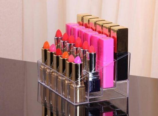Make-up organiser met 24 vakjes - Al je make-up overzichtelijk opbergen