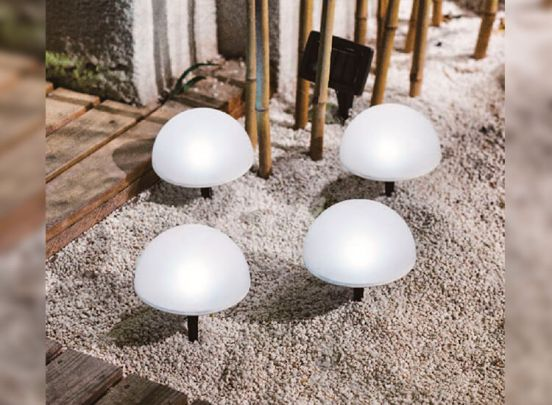 Kynast Solar Led tuinlampen - 4 stuks