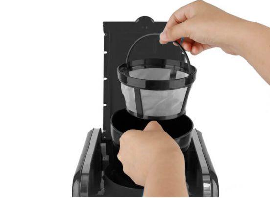 TurboTronic TT-CM12 Programmeerbare Koffiemachine - zwart