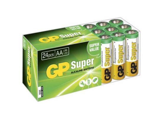GP AA Super Alkaline Batterijen - 24 stuks
