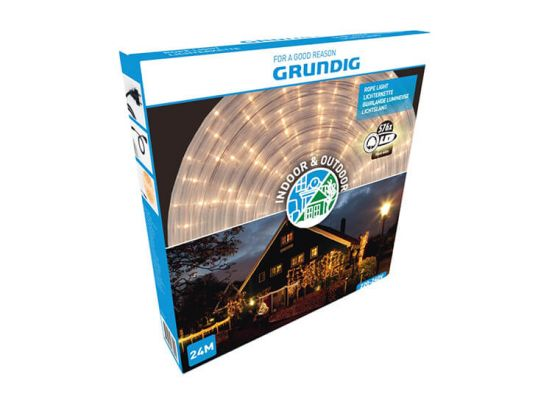 Grundig led lichtslang -12 of 24 meter - Indoor en Outdoor