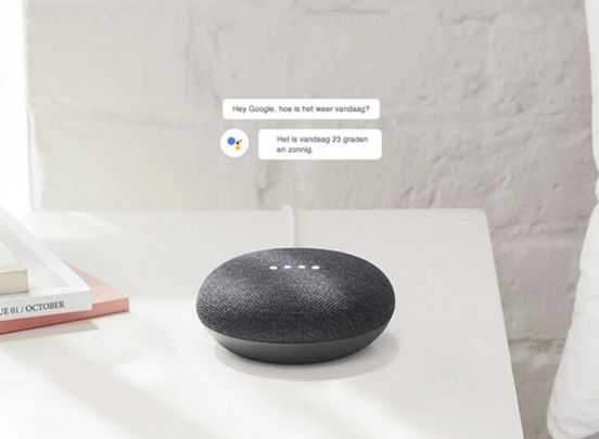 Google home mini - Assistant mini speaker  - Ondersteunt Nederlands