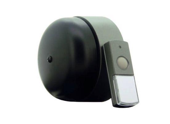 Profile deurbel Pesante - draadloos - 120 meter - mechanische bel