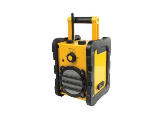Basic XL spatwaterbestendige draagbare FM-radio