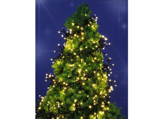Kerstverlichting met 576 geclusterde leds