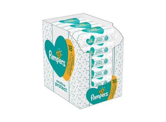Pampers Sensitive Protect Babydoekjes - 936 Babydoekjes - Billendoekjes