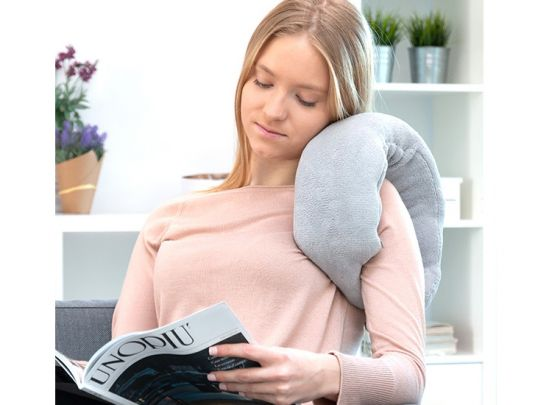InnovaGoods Wellness Relax nekkussen met massagefunctie