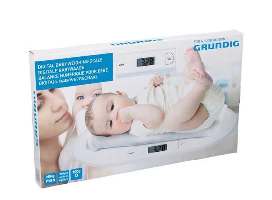 Grundig Babyweegschaal digitaal max 20kg - weegschaal - baby