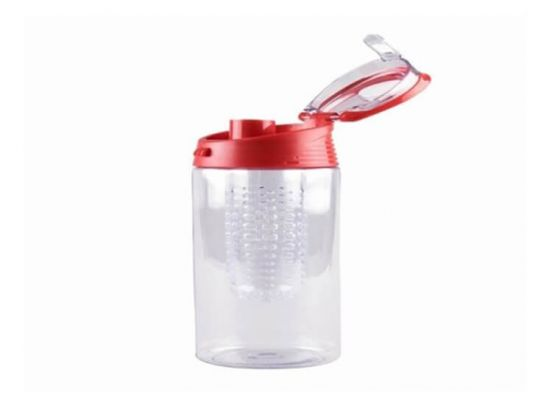 Fruit infuser met drinkdop 3 delig