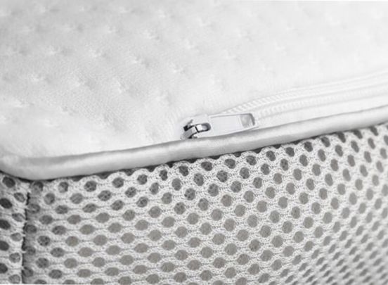 Sleepmed Memory foam kussen met 3D ventilatieband-Deluxe model