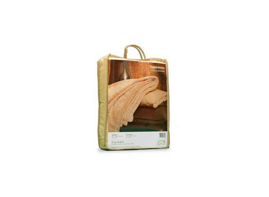 Fleece deken - Beige - 150 x 200 cm