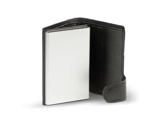 Card Guard Uitschuifbare portemonnee - Zwart
