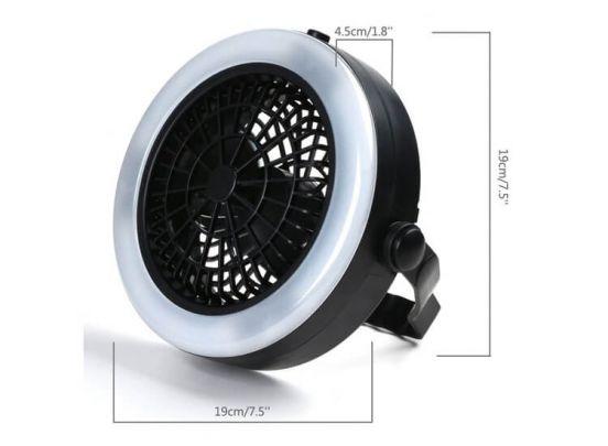 Benson ventilator met led verlichting