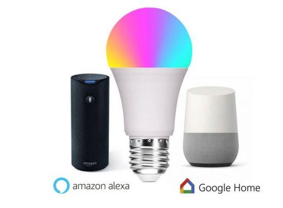 Smart wifi RGB led lamp - E26/E27 - Creëer sfeerverlichting