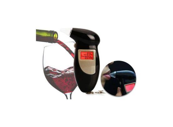 Blaastest alcohol tester - Digitaal - Sleutelhanger - draagbaar - alcoholtester