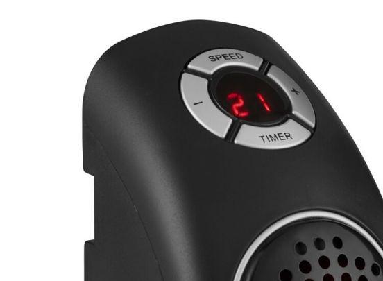 Power Fan Heater 400W - Verwarming in via stopcontact