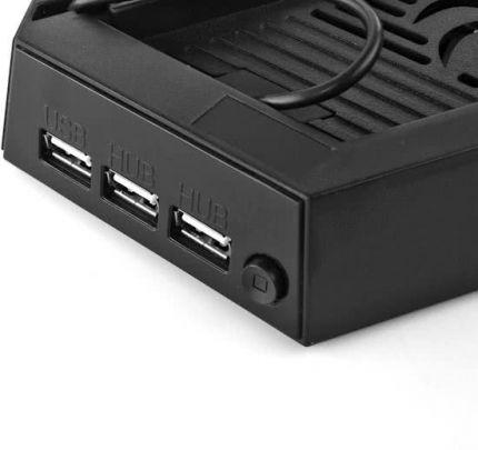 Charging stand voor de PS4 - Oplaadstation met dual ventilator voor je Playstation 4