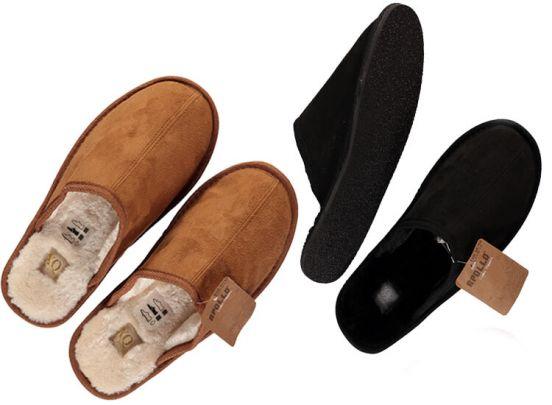 Apollo Pantoffels voor Dames en Heren - Zacht, warm en met een stevige zool