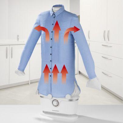 Cleanmaxx automatische strijkmachine - Strijkt en droogt al je textiel