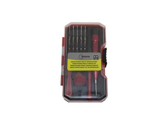 Benson Smartphone/Tablet Reparatieset - 17-delig