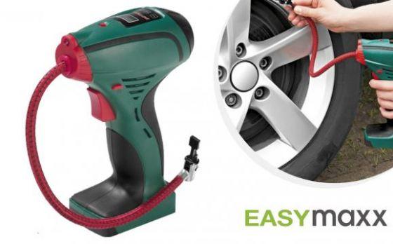 Easymaxx Draagbare Luchtcompressor - Voor Auto- En Fietsbanden, Luchtbedden