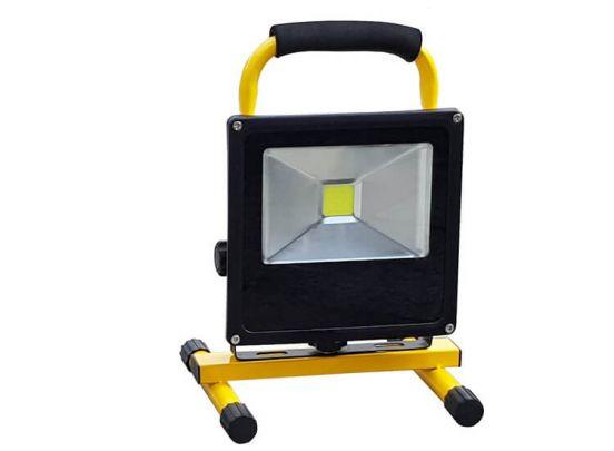 Höfftech oplaadbare led-straler - Een snoerloze en oplaadbare bouwlamp