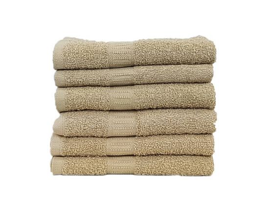 Handdoeken of badhanddoeken 100% katoen hotelkwaliteit - 6 pack
