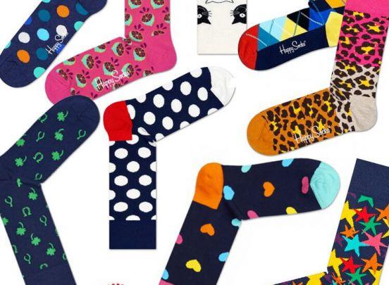 Happy Socks - 6 paar sokken - maat 41-46 - Leuk om cadeau te geven