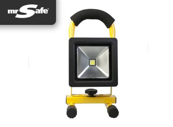 Mr safe oplaadbare LED bouwlamp