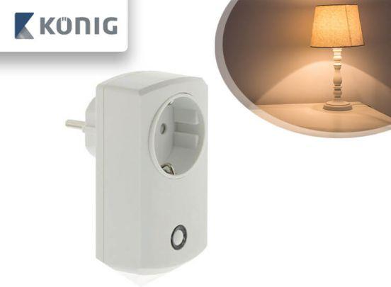 König Smart Home Plug-In Stopcontact