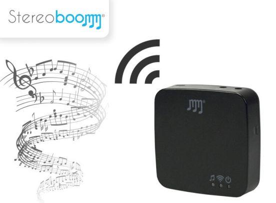 Stereoboomm MR150 - Wifi Ontvanger voor jouw Audio Systeem / Speakers