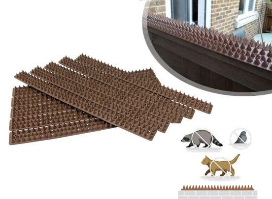 Anti-Klim Strips - 10 - stuks - Voor het weren van dieren of dieven