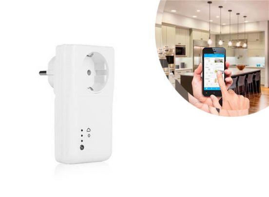 Flamingo Wifi smart plug | Slimme stekker | Stopcontact schakelaar met app