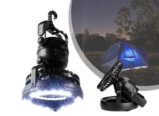 Mesa Living Led Lamp met ventilator