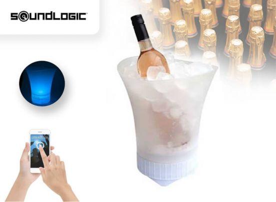 Soundlogic Bluetooth Speaker - Te gebruiken als vaas en wijnkoeler