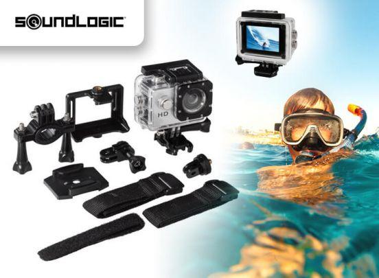 Soundlogic Action Pro 1080P Ultra HD Sports Camera - waterproof